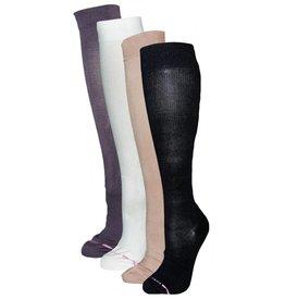 Women's Compression Micro Nylon Sock: Solid Color