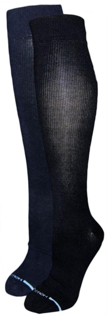 Dr. Motion Men's Compression Socks: Solid Color
