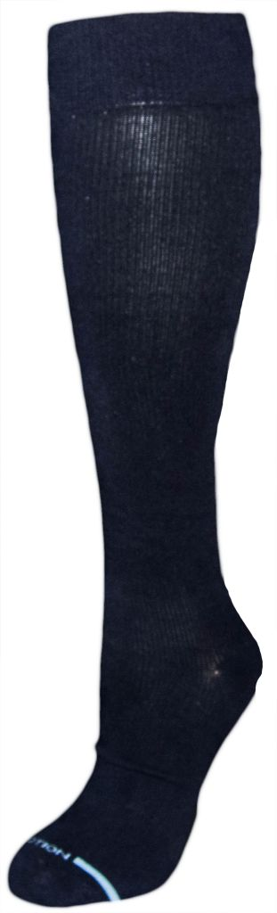 Dr. Motion Men's Compression Socks: Solid Color