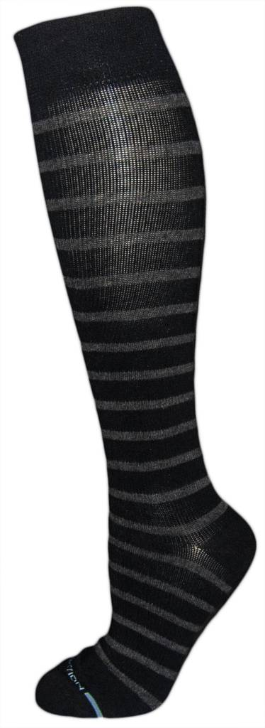 Dr. Motion Men's Compression Socks: Stripes