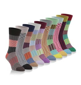 World's Softest Socks Women's Gallery Crew Socks