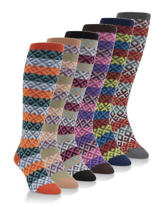 World's Softest Socks Gallery II Knee High Socks - Worlds Softest