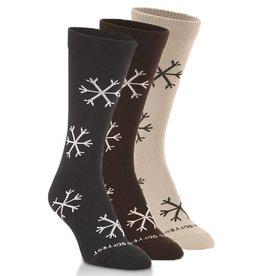 World's Softest Socks Women's Snowflake Socks