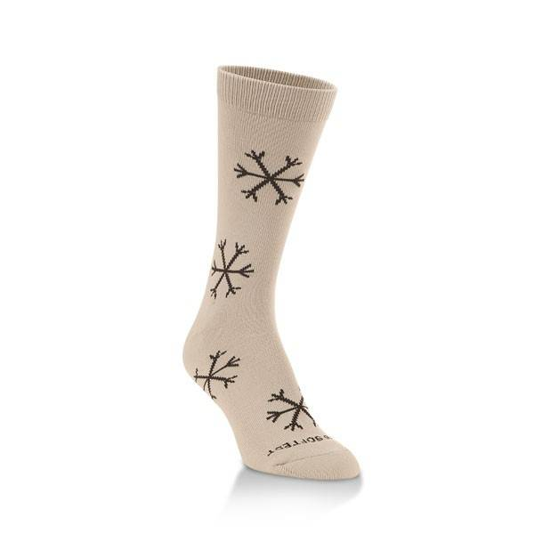 World's Softest Socks Women's Snowflake Socks - Christmas Socks
