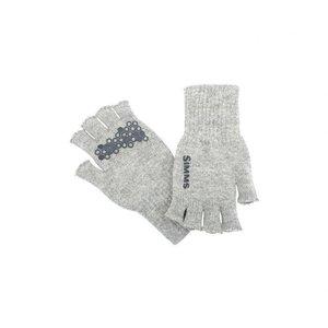 Simms Wool Half Finger Gloves