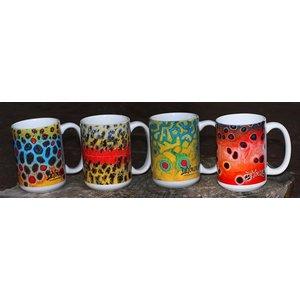 DeYoung Fish Flank Coffee Mug