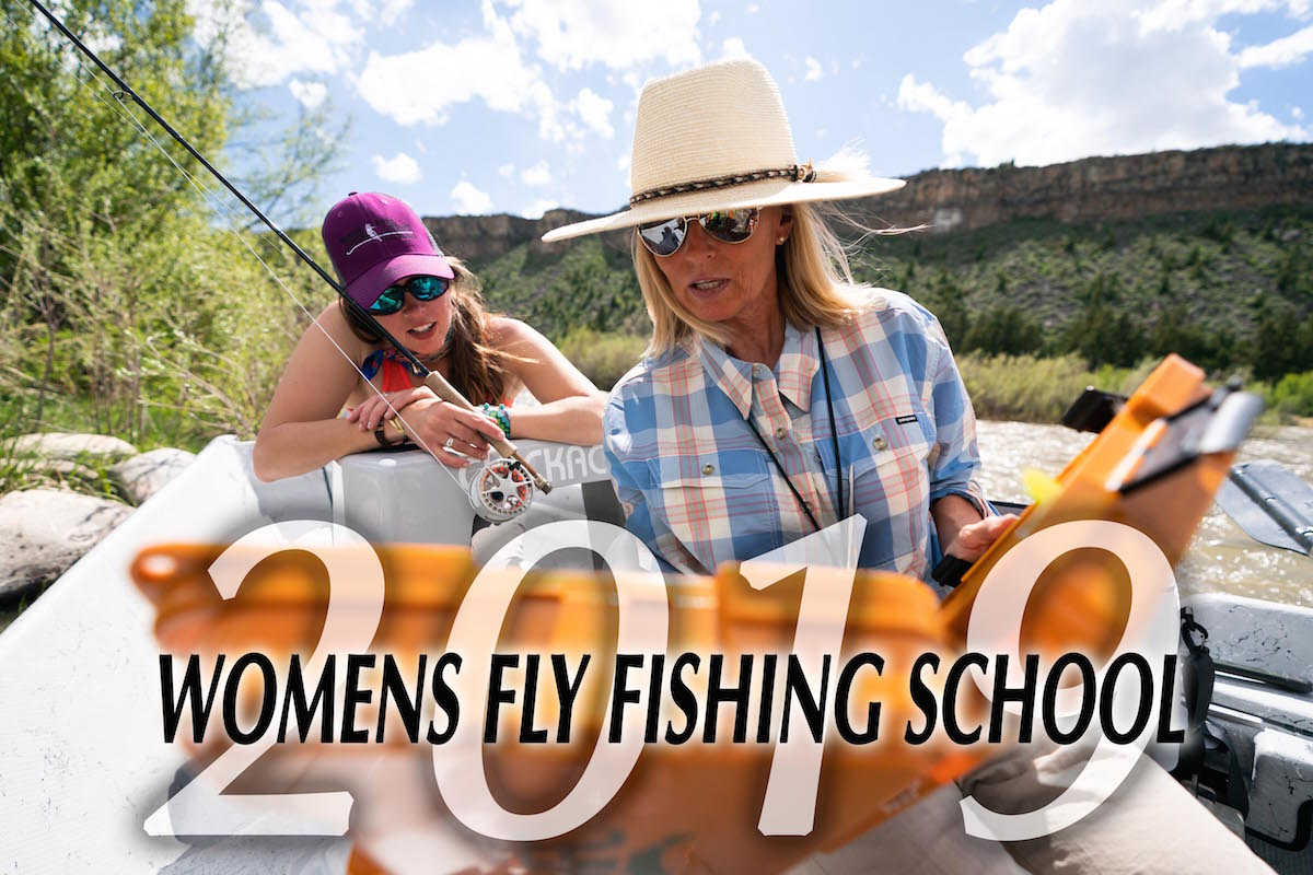 Montana's best womens fly fishing school in the us with Trout Stalkers in Ennis, MT