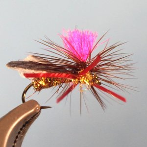 Silverman's Sparkle Fly Ant - Cinnamon #14