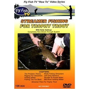 DVD-Streamer Fishing for Trophy Trout with Kelly Galloup