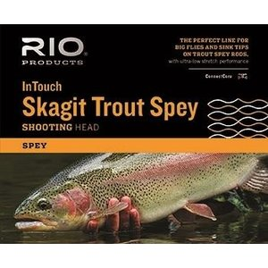 RIO RIO InTouch Skagit Trout Spey Shooting Head