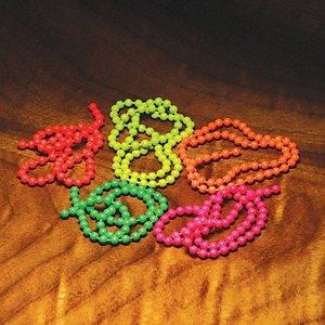 Hareline Fluorescent Bead Chain