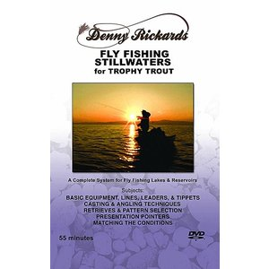 DVD-Fly Fishing Stillwaters for Trophy Trout-Rickards