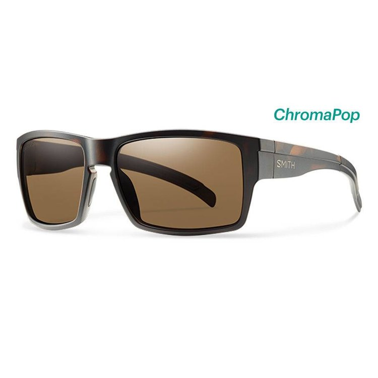 05710d07b9 Smith Outlier XL Sunglasses Matte Tortoise ChromaPop Polarized Brown ...