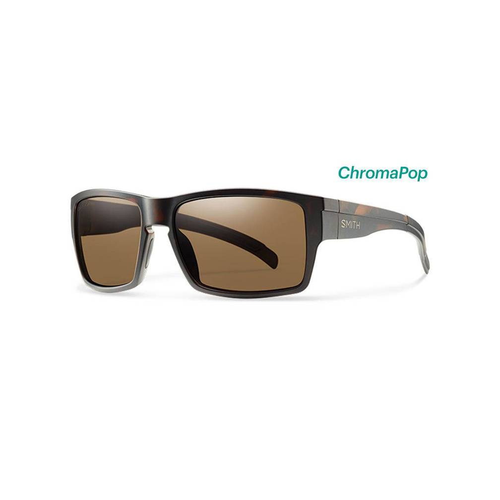 cbc7212ba9 Smith Outlier XL Sunglasses Matte Tortoise ChromaPop Polarized Brown ...