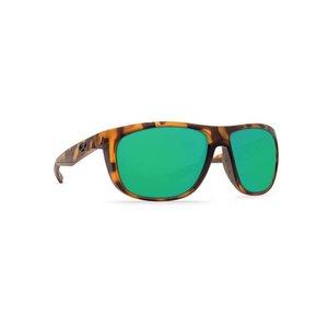 d0e851cfe5a Costa KIWA Sunglasses Matte Retro Tortoise Green Mirror W580