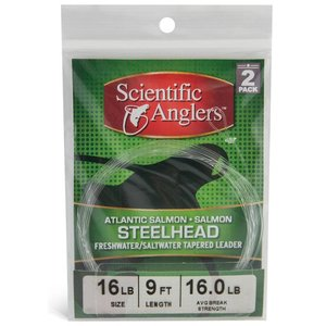 Scientific Anglers Steelhead/Salmon Leaders - 2 Pack 9'