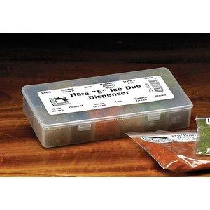 Hareline Hare'E Ice Dub 12/Color Dispenser