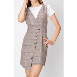 Plaid Frock Dress