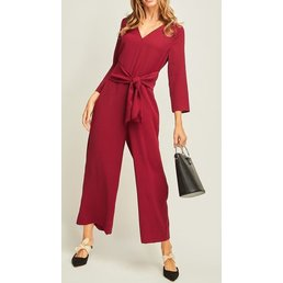 Knotted Waist Jumpsuit