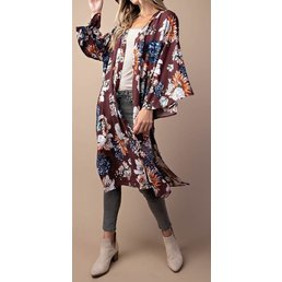 Flowy Kimono