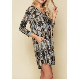 Bulgari Print Dress