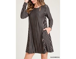 Vertical Stripe Dress