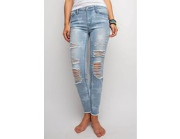 Star Print Jeans