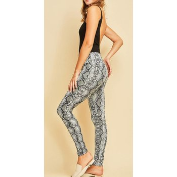 Reptile Print Leggings