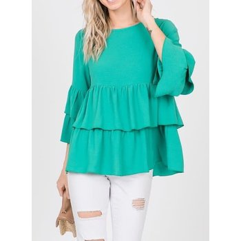 Tiered Panel Top