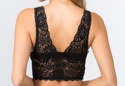 fb8a8ca1c853a2 Crochet Lace Bralette - Tiffany Lane