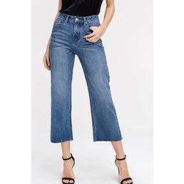 WIde Leg Capris Jeans