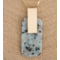 Metal Necklace w/Natural Stone Details - 32""