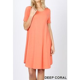 Round Hem Dress