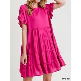 Tiered Babydoll Dress
