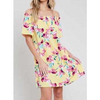 1a92bcde7a36 Off The Shoulder Dress - Tiffany Lane