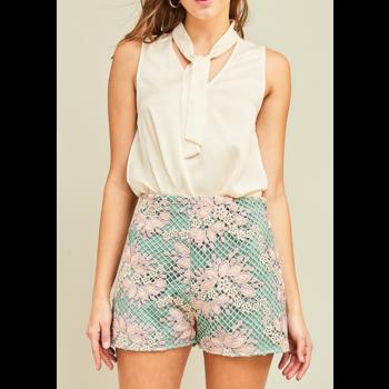 Highwaist Mesh Shorts