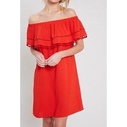OTS Pom Pom Dress
