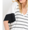 Striped Thermal Top