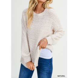 Boucle Knit Pullover