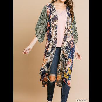 Long Sheer Kimono