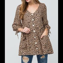 Cheetah Print Top