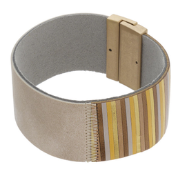 Colorblock Magnetic Closure Bracelet