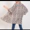 Reptile Print Kimono