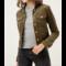 Crop Corduroy Jacket