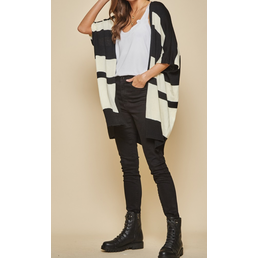 Stripe Cardigan