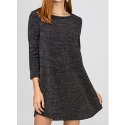 Heathered Dress