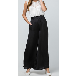 Satin Wide Leg Pants