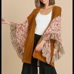 Wide Sleeve Kimono