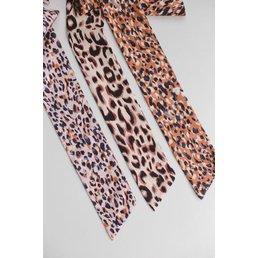 Leopard Skinny Bandana