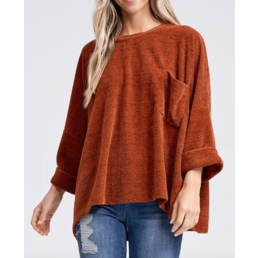 Oversize Chenille Sweater